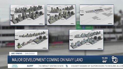 Navy development project could bring homes and commercial space to San Diego