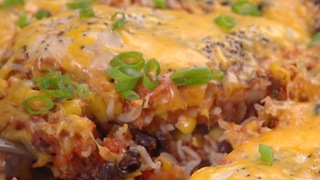 Salsa Chicken Casserole - Video