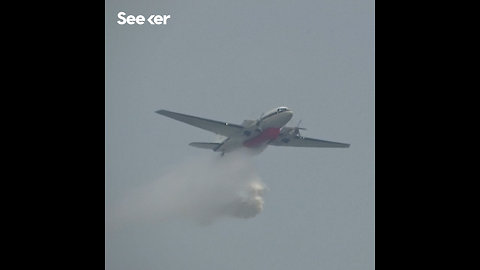 Fighting Smog With Planes and Water Cannons