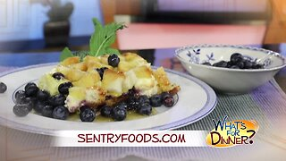 What's for Dinner? - Blueberry French Toast
