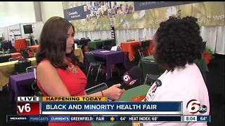 IN Shape Black and Minority Health Fair continues - Video