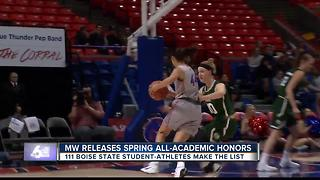 Broncos land 111 student-athletes to the All MW Team - Video