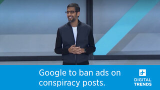 Google will pull ads from covid conspiracy posts
