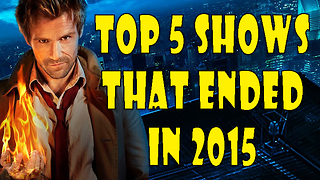 Top 5 Shows Cancelled in 2015 - Video
