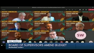 Milwaukee County Board of Supervisors rejects reductions to MCSO funding, adopt county budget