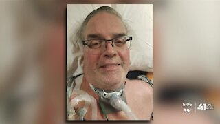 Lee's Summit man wakes up from 7 week COVID-19 coma, cancels funeral