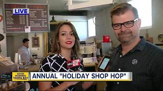 Chance to show love for Seminole Heights at Holiday Shop Hop - Video