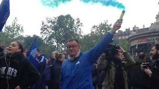 Police Gather in Paris in Protest Against 'Hatred' of Force - Video
