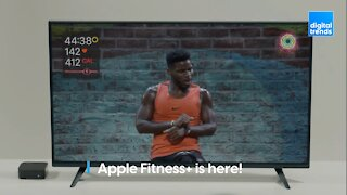 Apple Fitness+ is here!