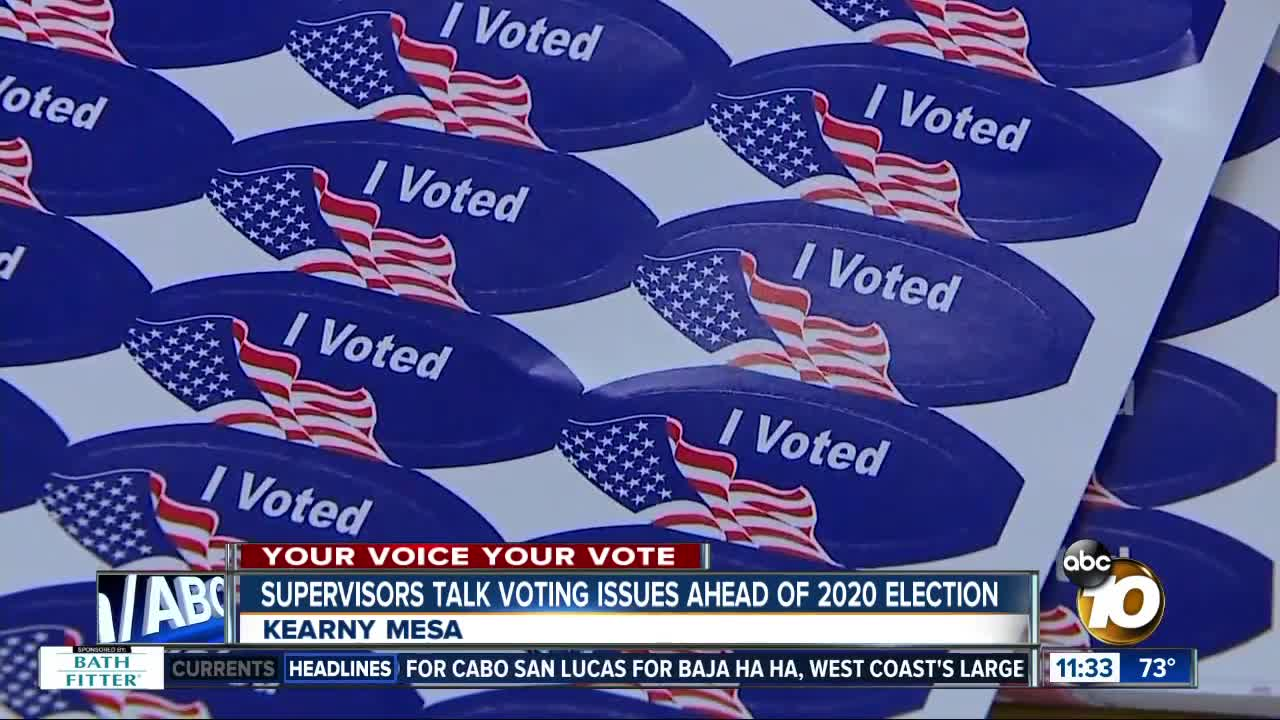 Voting offices approved for 2020 election