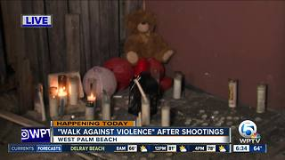 'Walk Against Violence' hopes to curb recent West Palm Beach violence - Video