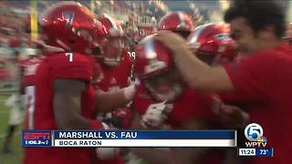 FAU Knocks Off Marshall To Extend Winning Streak - Video