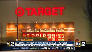 Police investigating reported shots fired inside Owings Mills Target - Video