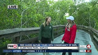 Volunteer Naturalists with Conservancy of SW Florida offer free guided nature tours daily