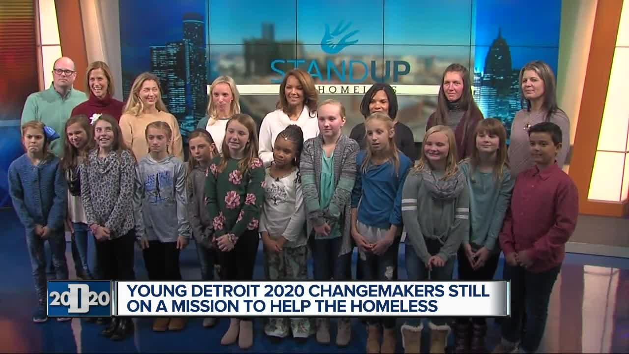 Young Detroit 2020 changemakers still on a mission to help the homeless