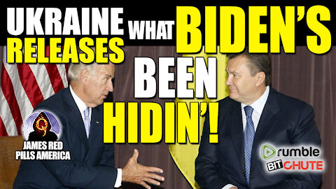 UKRAINE UNLEASES THE KRAKEN ON BIDEN TODAY! Share This EVERYWHERE Before It's GONE!