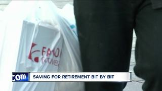 Saving for retirement bit by bit - Video