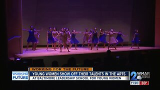 Young women show off their skills at Winter Arts Showcase