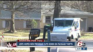 USPS offers new program to help cut down on package thefts - Video