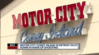 Motor City Coney Island in Detroit shut down in wake of Sunday shooting