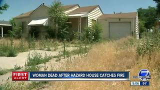 Woman dies after fire at vacant Denver home, neighbors complained about the property for years - Video