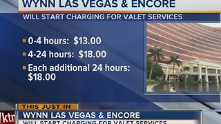 UPDATE: Wynn Resorts joins list of casinos charging for parking in Las Vegas - Video
