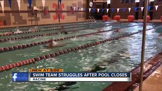 High School swim team upset over closed pool - Video