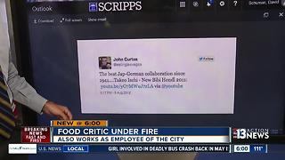 Las Vegas residents paying salary of controversial food critic - Video