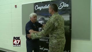 Medal of Honor recipient in Mid-Michigan - Video
