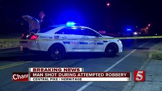 Man Shot At Hermitage Intersection - Video