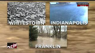 Heavy rains cause flooding, dangerous conditions across central Indiana - Video