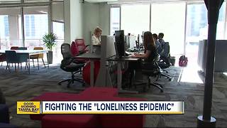 Doctor: Loneliness is a major health problem in America - Video