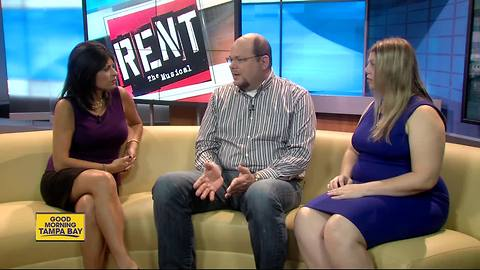 Cast of RENT and Tampa high school teacher team up to raise awareness to Marfan syndrome
