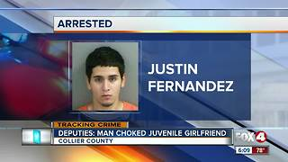 Man arrested for domestic violence on girlfriend