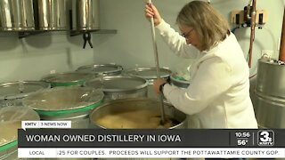 Local woman succeeding in male-dominated distillery business