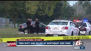18-year-old shot, killed at park on Indianapolis' northeast side - Video