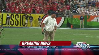 Arizona fires head coach Rich Rodriguez - Video