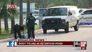 Decomposed body found in pond behind Pinellas County Winn Dixie, deputies investigating