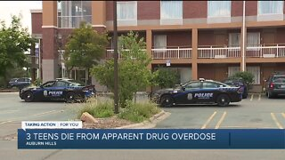 3 teens die from apparent drug overdose