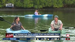 Valentines Day at Tarpon Bay Explorers - 7am  live report - Video