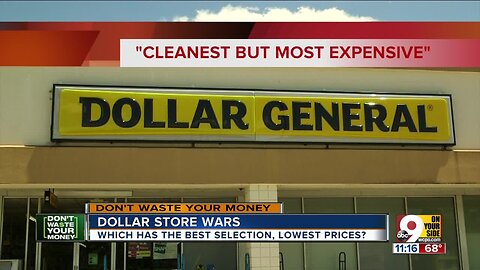 Dollar store wars: Which one lets you stretch your buck the farthest?