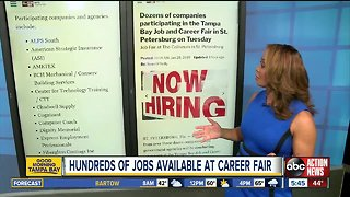 Large job fair at The Coliseum in St. Pete on Tuesday
