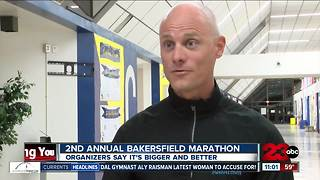 2nd annual Bakersfield marathon this weekend - Video