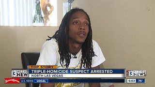 Family speaks out after triple-homicide suspect arrest