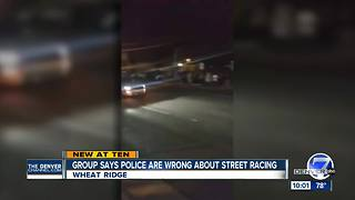 Wheat Ridge Police break up street race event - Video