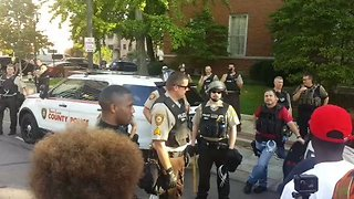 St. Louis Activists Celebrate Release of Arrested Protesters - Video