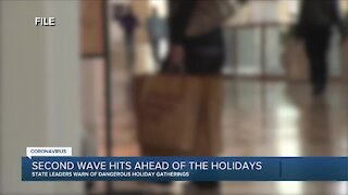 Second wave hits ahead of the holidays