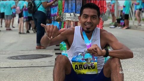 Local athlete's dream of running in the 2020 Olympics is over, but it wasn't over his ability.