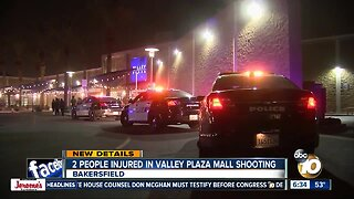 2 hurt in shooting at Bakersfield shopping mall