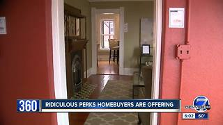Colorado home buyers offering crazy perks in wild real estate market - Video